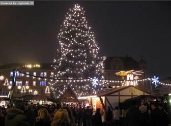 南ドイツのクリスマスマーケットのフリー写真・壁紙 ドイツ留学・旅行・生活のゲート-Bundestor-