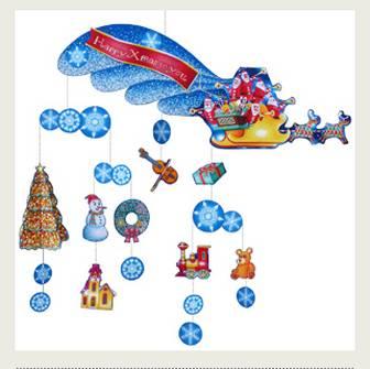 モビール:クリスマス - クリスマス - パーティー&イベント - ペーパークラフト - キヤノン クリエイティブパーク