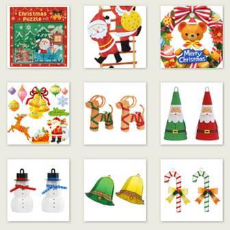 クリスマス - パーティー&イベント - ペーパークラフト - キヤノン クリエイティブパーク