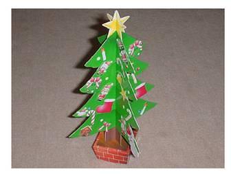 クリスマスツリー:ニコニコ村の工作室