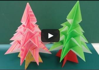 折り紙 クリスマス飾りの作り方・折り方 クリスマスツリーやリースの折り方 | いいね!その話 気ままなブログ