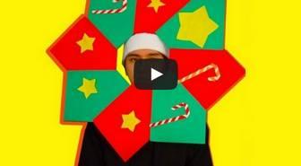 折り紙で飾るクリスマスリース 簡単な折り方 おしゃれな作り方 | 人気の折り紙 簡単折り方まとめ