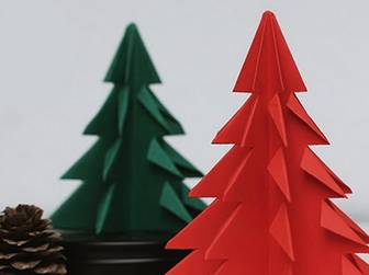 myLifebox: DIY | Origami Christmas Trees [repeat]
