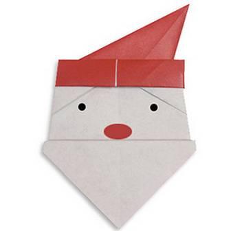 けいたい・X'mas クリスマス折り紙