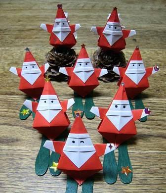 折り紙サンタさんを作ろう~♪ - Betty mamaの元気通信 - Yahoo!ブログ