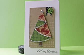 Folded Christmas Tree Tutorial - Splitcoaststampers