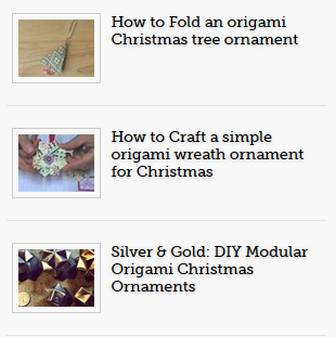 Origami Christmas Ornament « Wonder How To