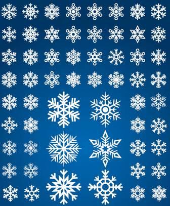 雪の結晶のアイコンシルエットai/eps | ベクタークラブ<イラストレーター素材が無料>