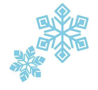 「雪の結晶」 - 無料イラスト愛