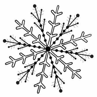 Embroidery Pattern: Snowflake – Needle'nThread.com