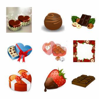 チョコレート - GATAG|フリーイラスト素材集