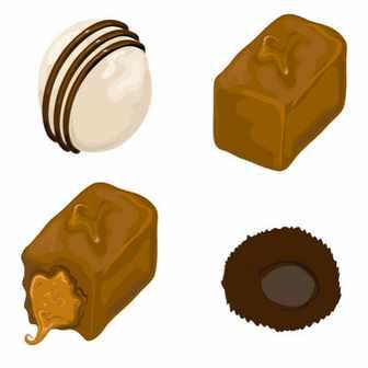 素材どっとこむ チョコレート素材