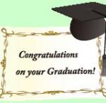 Congratulations 卒業イラスト