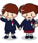幼稚園・保育園の卒園式に関連した画像素材
