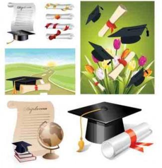 school graduation clip アート