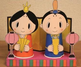 紙コップで作る かわいい 雛人形