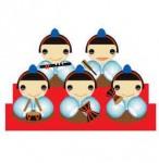 五人囃子の笛太鼓のイラスト