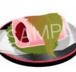 桜餅(一文字焼き)