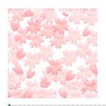 桜の花びら風リストマーク