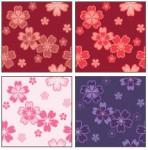 季節春(和風)~(シンプルな壁紙素材