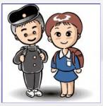 入学式の男女
