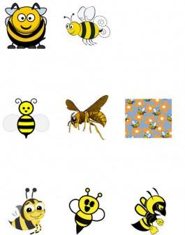 蜂 / ハチ - GATAG|フリーイラスト素材集