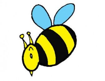 蜜蜂のクリップアート - ファーム
