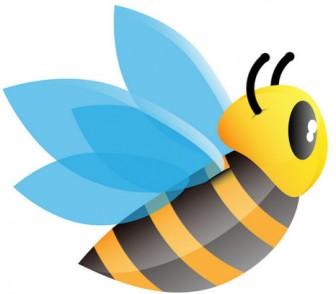 [フリー素材] ミツバチのイラスト (cc-library010005737) | CCライブラリー 【フリー素材集】