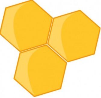 クリップ ベクトル 蜂の巣