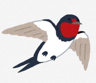 燕のイラスト: 無料イラスト かわいいフリー素材集