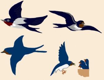 渡り鳥、 ツバメ, イラスト 無料 GIF