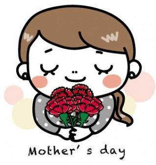 母の日のゆる可愛いイラスト&グリーティングカード集 [Web素材] All About