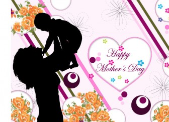 Happy Mother's Day Vector | Download Free Vector Graphic Designs | 123FreeVectors