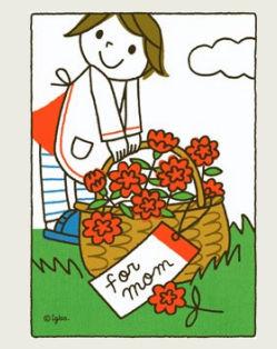 母の日カード0029 - 母の日 - グリーティングカード - ギフト&カード - キヤノン クリエイティブパーク