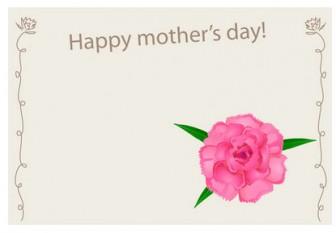 母の日カードのイラスト素材|dakImage