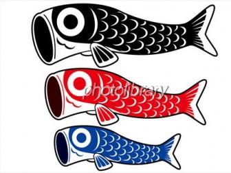 鯉のぼり - 素材
