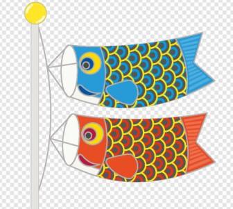 鯉のぼり 子供の日 端午の節句のイラスト フリー素材 春季節