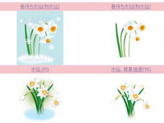 春の無料イラスト