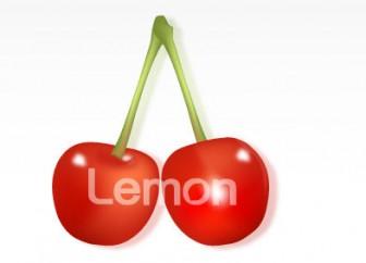 イラスト無料素材集Lemon | さくらんぼ イラスト cherry 無料素材