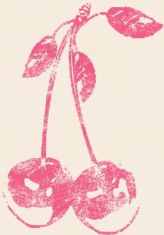 さくらんぼ・チェリーのイラスト・スタンプ(フルーツ)|かわいいスタンプ・判子・イラストのフリー素材集 【無料】