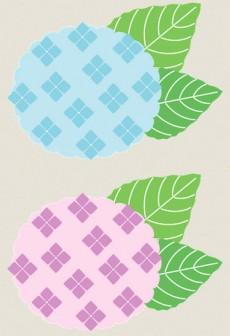 あじさいのイラスト : ぱちくり屋のPOP-BLOG