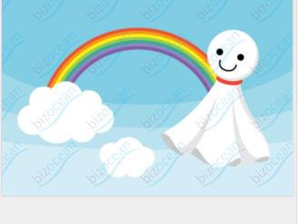 虹とてるてる坊主|テンプレートの無料ダウンロードは【書式の王様】