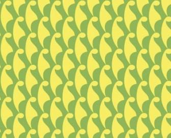 てるてる坊主柄(黄緑) 和柄商用フリー素材【wargo pattern】