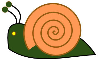 Snail 13 Clip Art at Clker.com - vector clip art online, royalty free & public domain