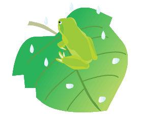 蛙のイラスト素材