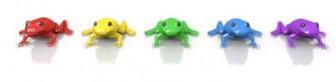 蛙 - フリー素材 - カラフル - イラスト
