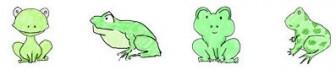 蛙/カエル/おたまじゃくしイラスト一覧
