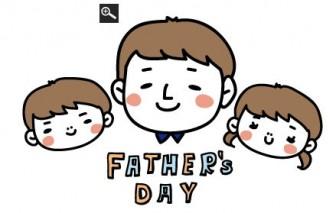 父の日のゆる可愛いイラスト&カード集 [Web素材] All About