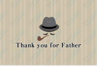 【無料ダウンロード】父の日のイラスト一覧(10件)|無料イラスト・素材・挿絵・画像・メッセージカードは【書式の王様】