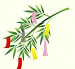 たなばた(七夕)のイラスト:無料画像の素材屋花子